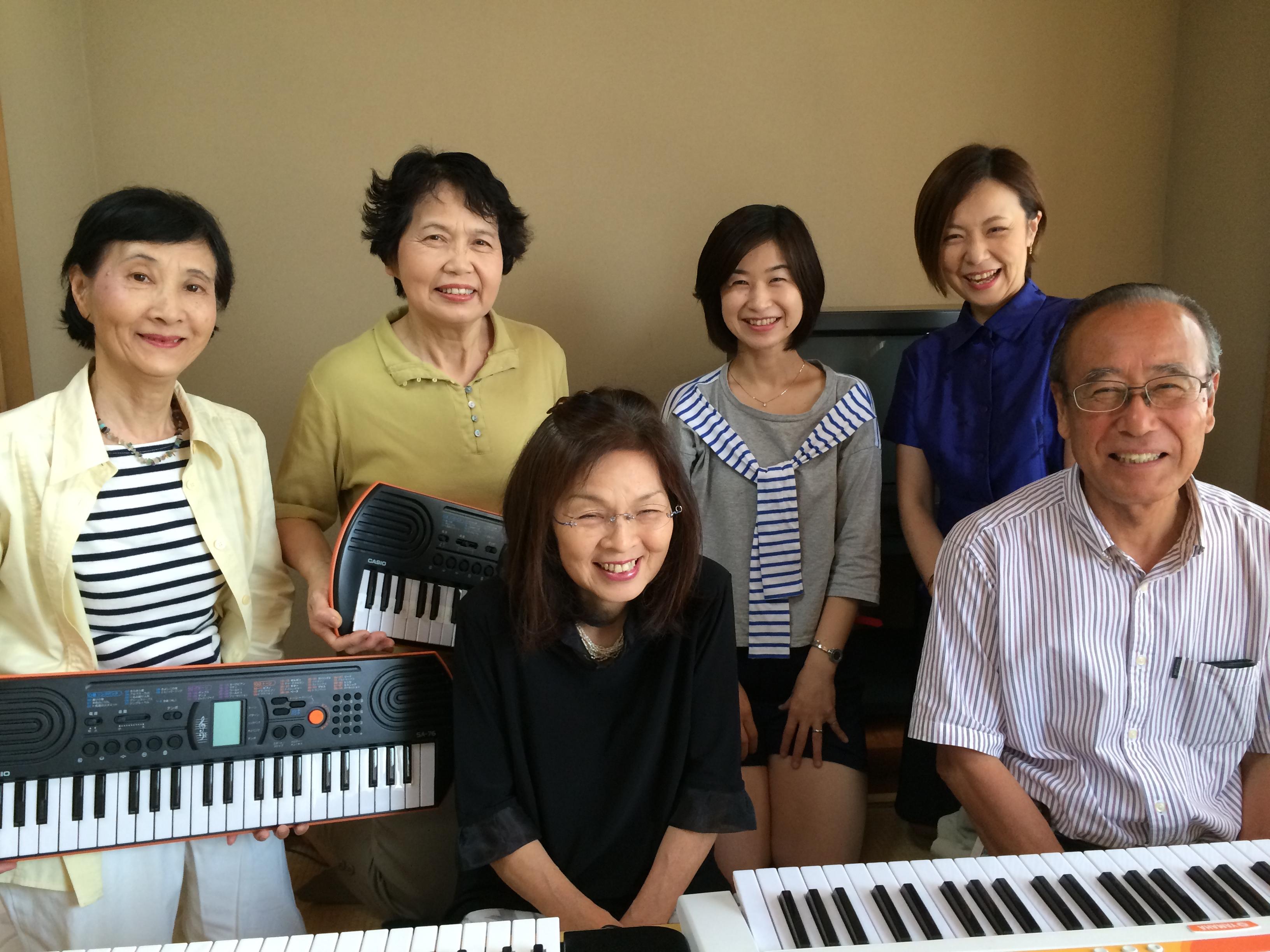 シニアグループピアノ