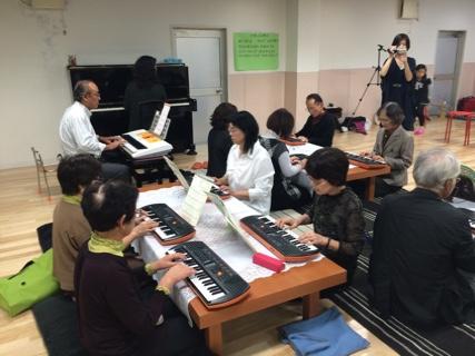 シニアグループピアノ発表会